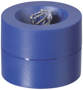 PAPERCLIPHOUDER MAUL 30123 MAGNETISCH 6CM BLAUW 1 STUK