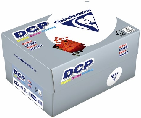 LASERPAPIER CLAIREFONTAINE DCP A4 120GR WIT 250 VEL-2