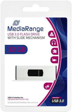 USB-STICK MEDIARANGE 3.0 32GB 1 Stuk