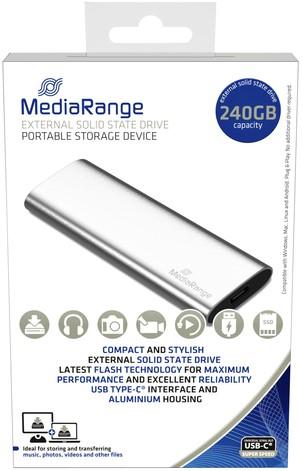 HARDDISK MEDIARANGE 3.0 SSD EXTERN 240GB 1 Stuk