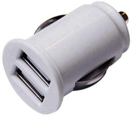 AUTOLADER GREEN MOUSE DUAL USB-A WIT 1 STUK