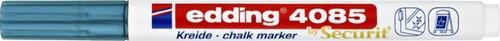KRIJTSTIFT EDDING 4085 ROND 1-2MM METALLIC BLAUW 1 Stuk