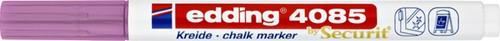 KRIJTSTIFT EDDING 4085 ROND 1-2MM METALLIC ROZE 1 Stuk