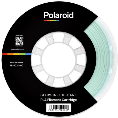 3D Filament Polaroid PLA 1kg Glow-in-the-dark 1 Stuk