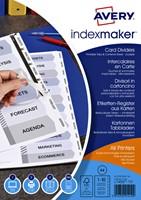 TABBLADEN AVERY INDEXMAKER A4 4R 10DLG 1 SET