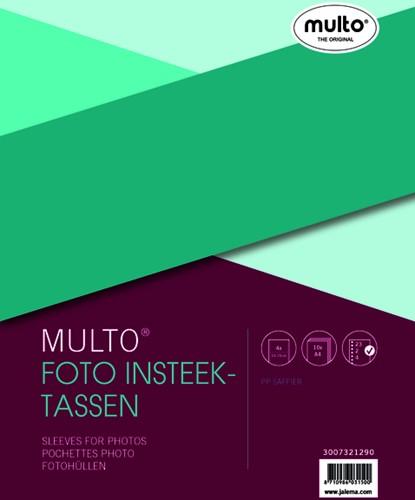 FOTOTAS MULTO 23R 10X15CM 4VAK 0.12MM 10 STUK