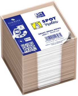 Memokubus Oxford Spot Notes 90x90mm 800vel tr 800 Vel