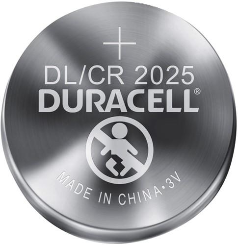 BATTERIJ DURACELL 2025 LITHIUM 2PACK 2 STUK-2