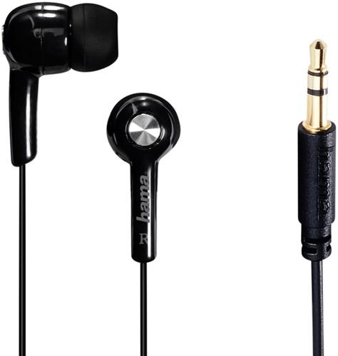 OORTELEFOON HAM IN-EAR-STEREO BASIC4MUSIC ZWART 1 STUK