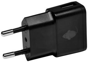 OPLADER GREENMOUSE USB-A 1X 1A ZWART 1 Stuk