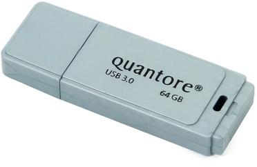 USB-STICK QUANTORE FD 64GB 3.0 ZILVER 1 Stuk