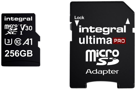 GEHEUGENKAART INTEGRAL MICRO V30 256GB 1 Stuk