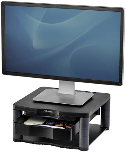 MONITORSTANDAARD FELLOWES PREM PLUS GRAFIET 1 STUK