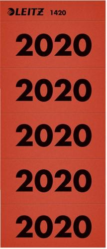 RUGETIKET LEITZ 2020 ROOD 100 STUK