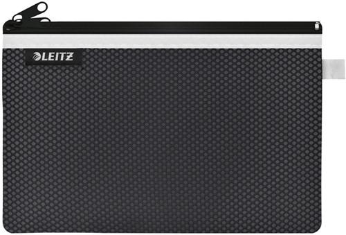 REISETUI LEITZ WOW 230X150MM MET RITS ZWART 1 Stuk