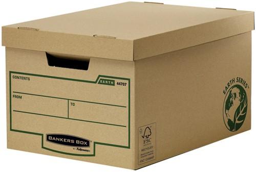OPBERGDOOS BANKERS BOX EARTH 325X260X445MM 1 Stuk