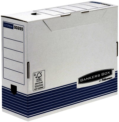 ARCHIEFDOOS BANKERS BOX SYSTEM A4 100MM TRANSFER 1 STUK