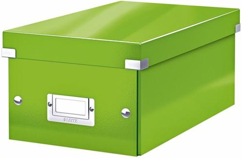 DVD-BOX LEITZ WOW CLICK&STORE GROEN 1 STUK