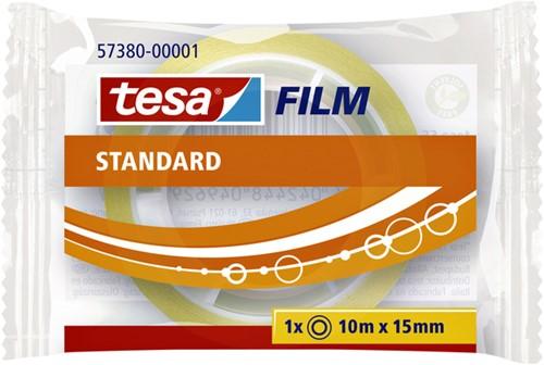 PLAKBAND TESA 57380 15MMX10M STANDAARD TR 1 STUK