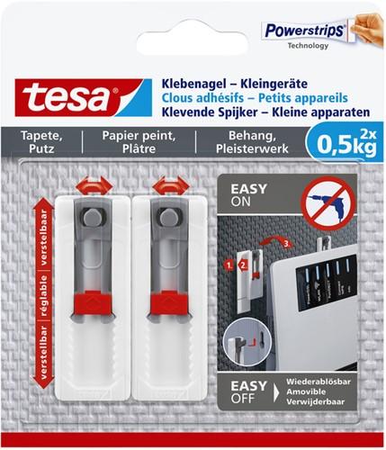 KLEVENDE SPIJKER TESA KLEINE APPARATEN 500GR 2 Stuk