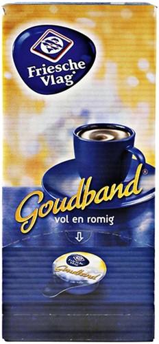 KOFFIEMELK FRIESCHE VLAG GOUDBAND 7.5 GRAM 400