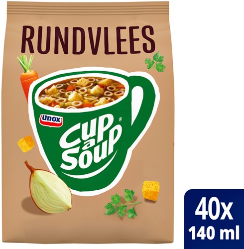 CUP A SOUP TBV DISPENSER RUNDVLEES 40 PORTIES 40