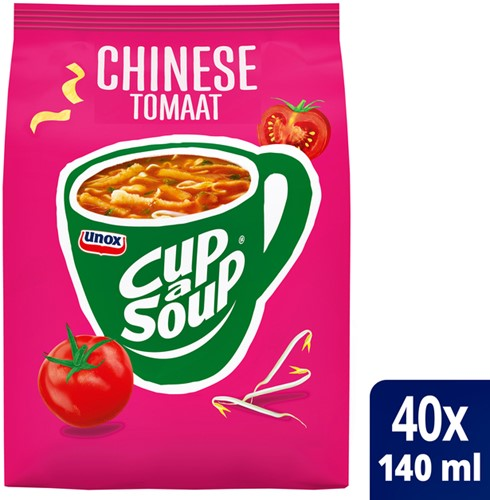 CUP A SOUP TBV DISPENSER CHINESE TOMAAT 40 PORTIES 40
