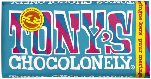 TONY'S CHOCOLONELY PUUR MERINGUE KERS 180GR 180 GRAM