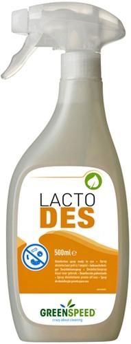 DESINFECTIEMIDDEL GREENSPEED LACTO DES SPRAY 500ML 1 Fles
