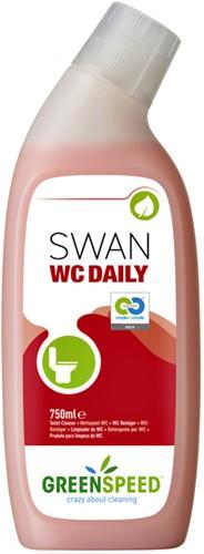 SANITAIRREINIGER GREENSPEED SWAN WC DAILY 750ML 1 FLES