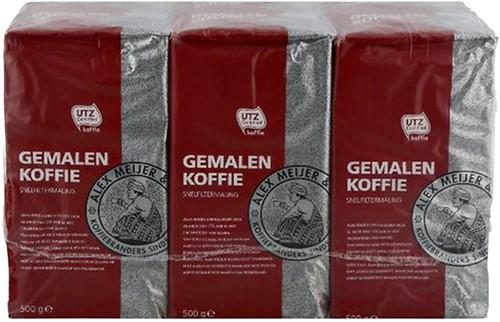 KOFFIE ALEX MEIJER ROODMERK SNELFILTER 500 GRAM