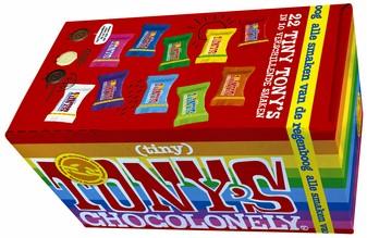 TONY'S CHOCOLONELY TINY MIX 200GR 22 Stuk