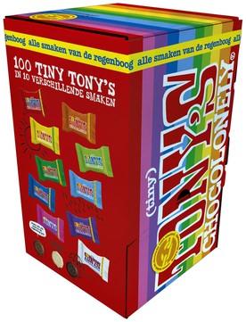 TONY'S CHOCOLONELY TINY MIX 900GR 100 STUK
