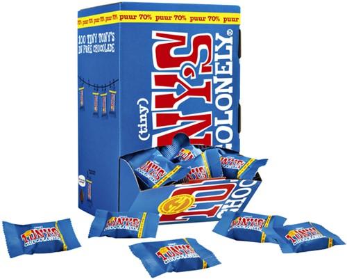TONY'S CHOCOLONELY TINY PUUR 900GR 100 Stuk