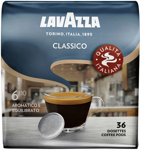 KOFFIE LAVAZZA CLASSICO PADS 36 Stuk