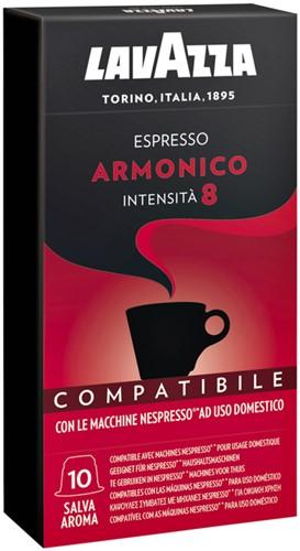 KOFFIE LAVAZZA ESPRESSO ARMONICO CAPSULES 10 Stuk