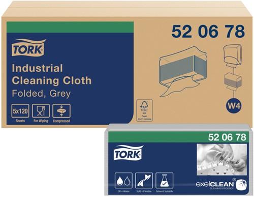 POETSDOEK TORK W4 520678 NONWOVEN INDUSTRIAL 5 PAK