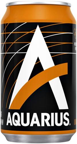 FRISDRANK AQUARIUS ORANGE BLIKJE 0.33L 33 Centiliter