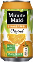 FRISDRANK MINUTE MAID ORANGE BLIKJE 0.33L 33 CL