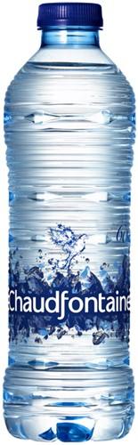 WATER CHAUDFONTAINE BLAUW FLES 0.50L 50 CL