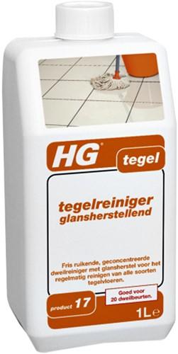TEGELREINIGER HG GLANSHERSTELLEND 1 LITER 1 FLES