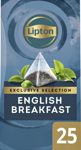 THEE LIPTON EXCLUSIVE ENGLISH BREAKFAST 25 Stuk