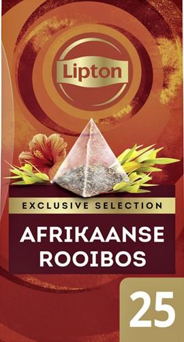 THEE LIPTON EXCLUSIVE AFRIKAANSE ROOIBOS 25 Stuk