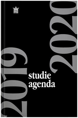 AGENDA 2020-2021 RYAM STUDIE 7DAG/2PAG ZWART 1 STUK