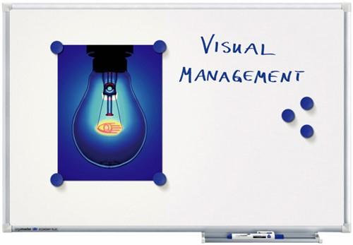 WHITEBOARD LEGAMASTER ECONOMY PLUS 60X90CM EMAIL 1 STUK