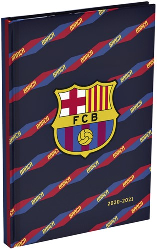 SCHOOLAGENDA 2020-2021 FC BARCELONA 150X220MM 1 STUK