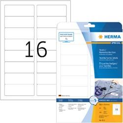 NAAMBADGE ETIKET HERMA 4515 88.9X33.8MM WIT 20 VEL