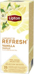THEE LIPTON REFRESH VANILLE 25 STUK