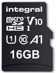 GEHEUGENKAART INTEGRAL MICRO V10 16GB 1 STUK