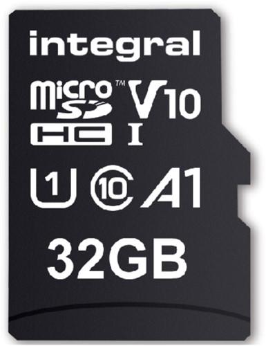 GEHEUGENKAART INTEGRAL MICRO V10 32GB 1 Stuk
